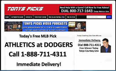 athleticsdodgersfreemlbpick07282015
